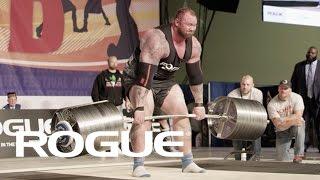 2017 Arnold Strongman Classic - Rogue Elephant Bar Deadlift / 4K