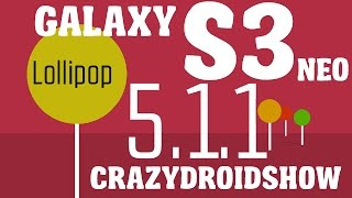 Android 5.1.1 Lollipop (Samsung Galaxy S3)