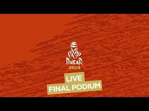 LIVE - Final podium / Podio de llegada / Podium d'arrivée - Dakar 2019