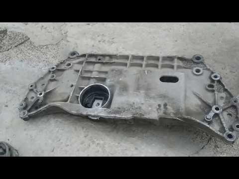 Замена подушек двигателя в подрамнике VW Golf, Jetta, Bora. 1.6 BSE
