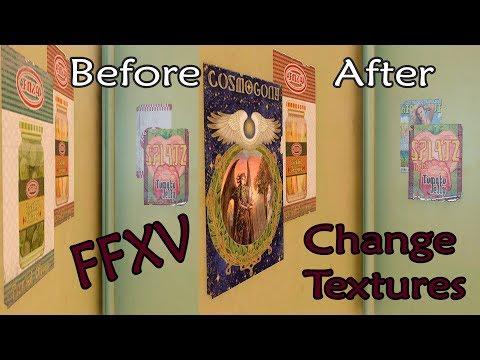 Ffxv Texture Modding Tutorial [ger/eng] | Readable