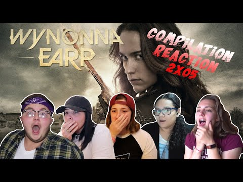 "REACTION COMPILATION Wynonna 2x05 ""Gore & Love"""