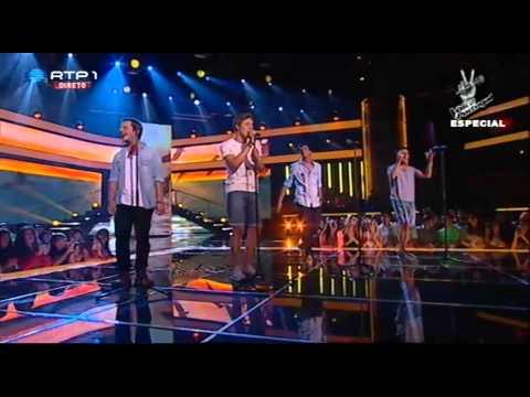 """D.A.M.A. e Salvador Seixas – """"Balada do Desajeitado"""" – Gala Solidária - The Voice Portugal"""