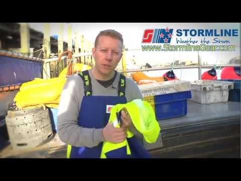 Stormline Crew 211 Heavy Duty Fishing Oilskin Jacket