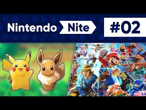 Pokémon Let's Go Pikachu & Eevee, Nintendo's E3 2018 + More! - Nintendo Nite Podcast Episode #02