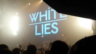 White lies - Morning in LA 19.04.2017 Moscow