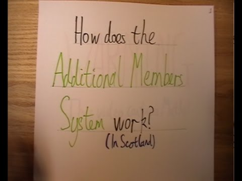 Additional Members System