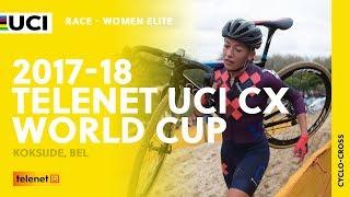 2017-18 Telenet UCI Cyclo-cross World Cup - Koksijde (BEL) / Women Elite