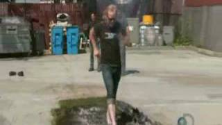 Mythbusters - Adam tries fire walking