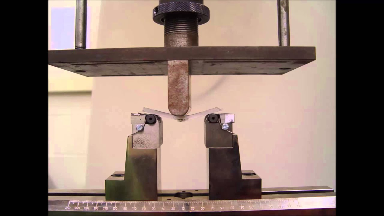 Bending Test Of Composite Astm 790 Youtube