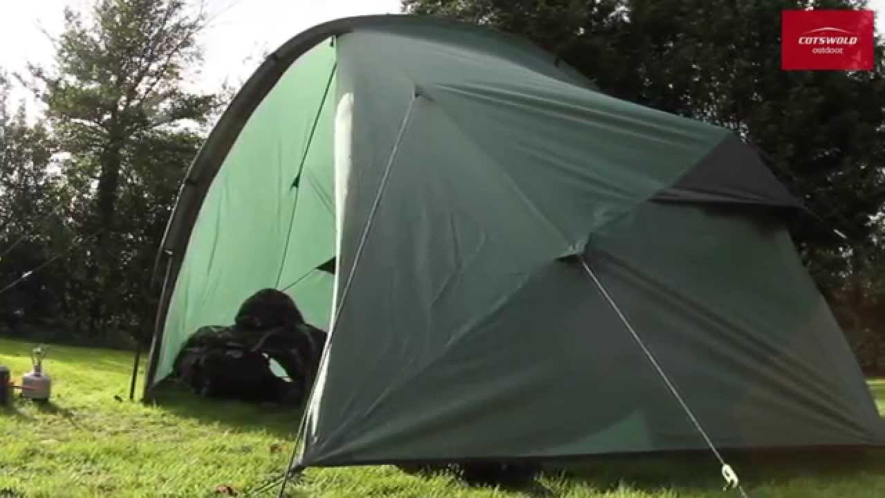 Wild Country Zephyros 3 Living Tent & Wild Country Zephyros 3 Living Tent - YouTube