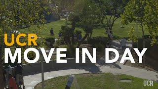 Move-in Day At Uc Riverside