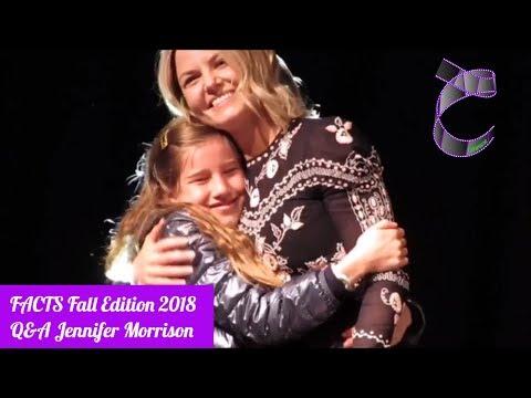 Q&A Jennifer Morrison OUAT, House M.D at FACTS Fall edition 2018 HD Sound