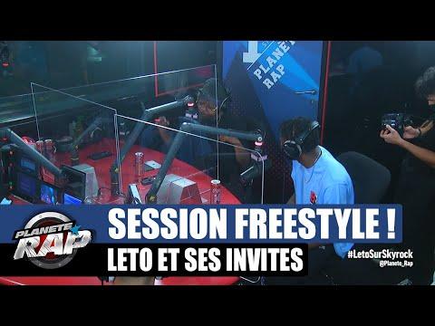 Youtube: Leto – Session freestyle avec Maes & Tiakola! #PlanèteRap