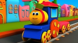 Bob The Train Cartoon Shows | Nursery Rhymes & Kids Songs | Baby Learning Videos
