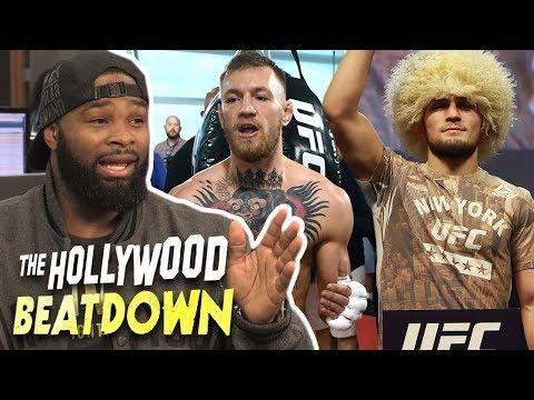 Tyron Woodley Is Caught Between Conor McGregor vs Khabib | The Hollywood Beatdown