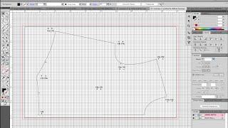 Grading Your Digitized Pattern in Illustrator VIDEO 2 METHOD 1