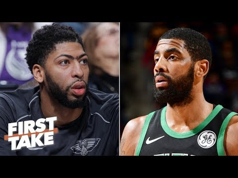 Danny Ainge dropped the ball with Anthony Davis, Kyrie Irving – Stephen A. | First Take