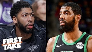 Danny Ainge dropped the ball with Anthony Davis, Kyrie Irving - Stephen A. | First Take