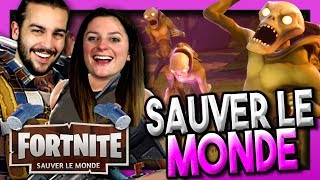 ON DOIT SAUVER LE MONDE ! | FORTNITE COOP MODE HISTOIRE SAUVER LE MONDE