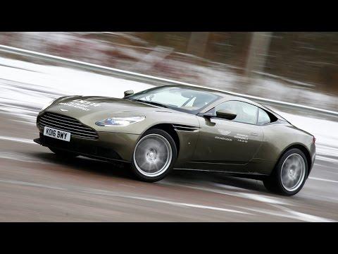 Aston Martin DB11: первый тест на полигоне