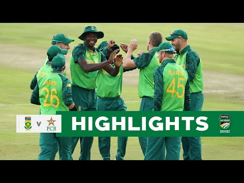 Proteas vs Pakistan | 1st #BetwayODI Highlights | SuperSport Park, 2 April 2021 - Cricket South Africa