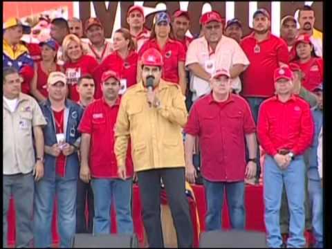 Presidente Nicolás Maduro, cadena completa desde estado Bolívar, 25 febrero 2015