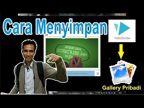 How to Save VideoScribe Into Private Gallery - Saving Sparkol VideoScribe