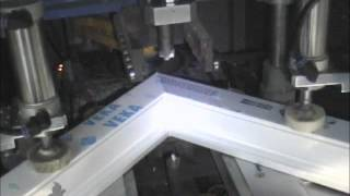 Solace Creations show how double glazed windows are made by Inframe Glazing Systems