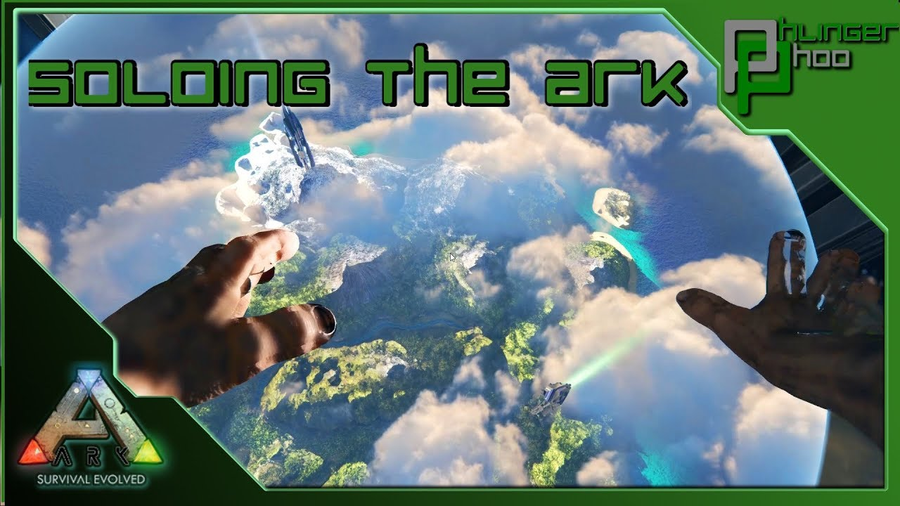 Soloing the Ark S4E85 - ALPHA TEK CAVE AND OVERSEER SOLO