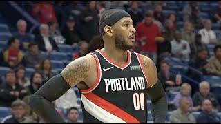 New Orleans Pelicans vs Portland Trail Blazers - 1st Half Highlights   Nov 19, 2019   NBA 2019-20