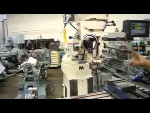 Jet JTM-4VS Vertical Mill