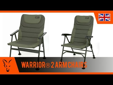 ***Carp Fishing TV*** Warrior® 2 Arm Chairs
