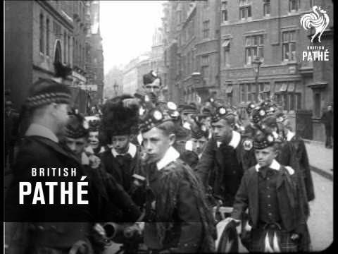 Scots Guards March To Holyrood (1920)