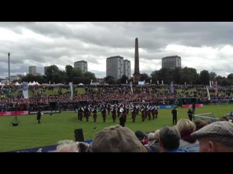 Simon Fraser University Pipe Band Medley @ Worlds Glasgow 2016
