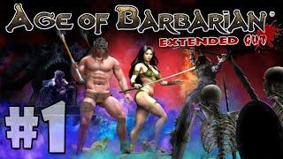 Age Of Barbarian - Extended Cut Walkthrough Part 1: Boruth