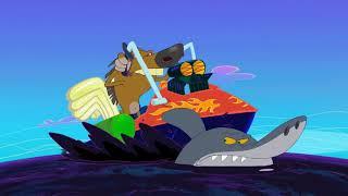 Зиг и Шарко | БАЙКЕР | русский мультфильм | дети видео | мультфильмы |