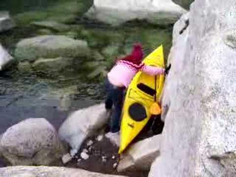 Near kayak mishap