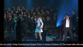 """I Believe I Can Fly"" - Unity Community Gospel Choir - CDA Coeur d'Alene - Dan Hegelund - FaithC"