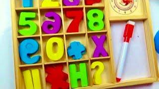 Учим цифры учимся считать до 10 и писать Егор и компания Обучающее видео для детей thumbnail