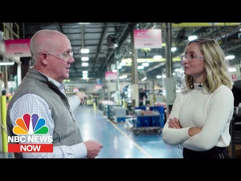 American Business Owner Describes Effect Of China Tariffs  NBC News NOW
