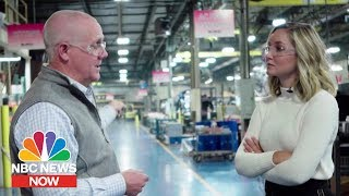 American Business Owner Describes Effect Of China Tariffs | NBC News NOW Video