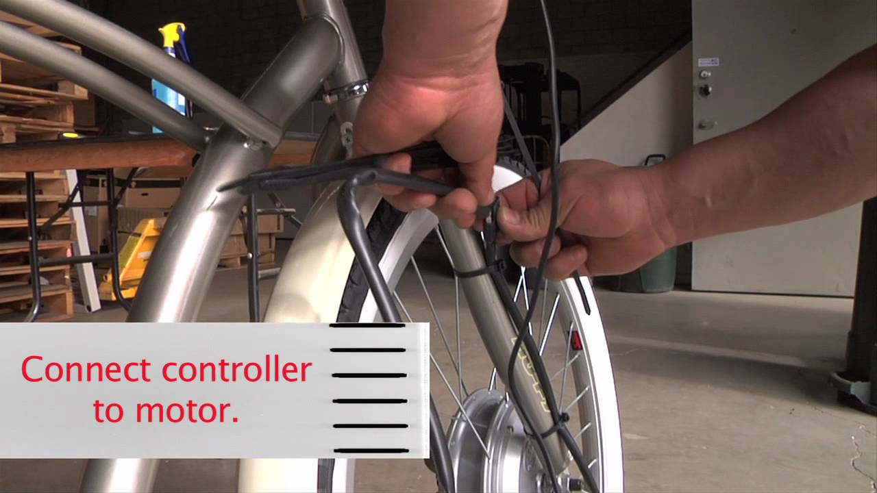 Step 5 Wiring Your Electric Bike Kit Youtube Motorcycle Battery Diagram