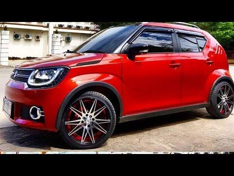 Top Modified Maruti Suzuki Ignis Alloy Wheels Roof