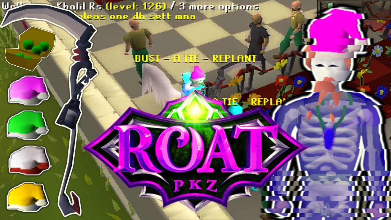 THE KING IS BACK!! CRAZY GAMBLES (HUGE GIVEAWAY) - RoatPKZ RSPS