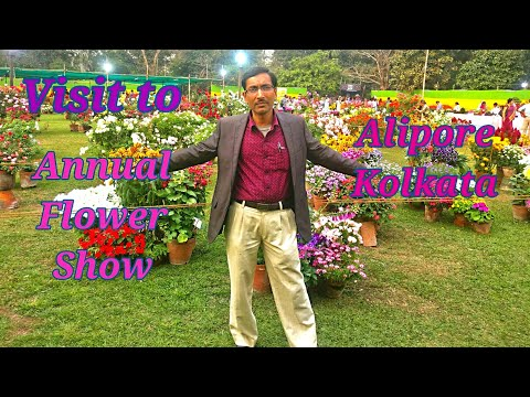 VISIT TO ONE OF THE BEST FLOWER SHOW IN INDIA.