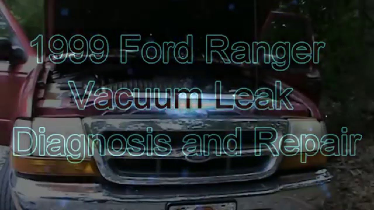 Air Intake Manifold >> 1999 Ford Ranger Vacuum Leak Diagnosis and Repair - YouTube