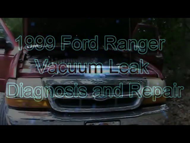 2000 Ford Ranger Vacuum Diagram Pdf