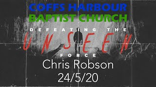 Online Service - Defeating the Unseen Force: Part 4 - Chris Robson