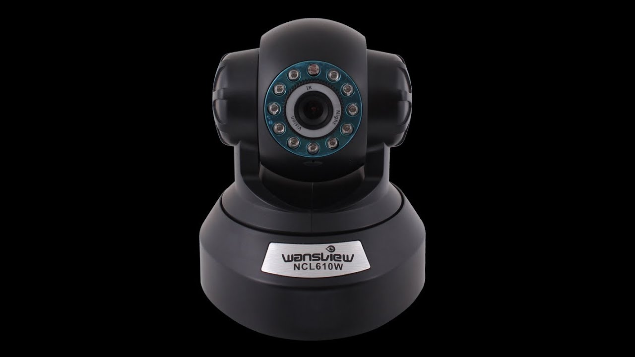 how to find unknown ip camera on network